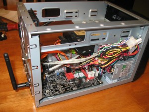 Motherboard install